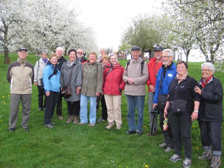 Kirschblütenwanderung am 09.04.2014